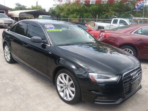 2014 Audi A4 for sale at Express AutoPlex in Brownsville TX