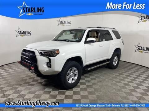 2019 Toyota 4Runner for sale at Pedro @ Starling Chevrolet in Orlando FL