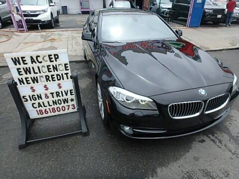 2012 BMW 5 Series for sale at Cedano Auto Mall Inc in Bronx NY
