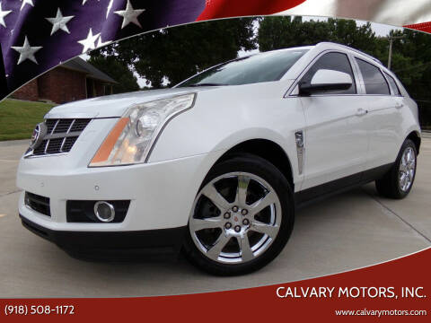 2010 Cadillac SRX for sale at Calvary Motors, Inc. in Bixby OK