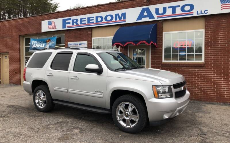 2010 Chevrolet Tahoe for sale at FREEDOM AUTO LLC in Wilkesboro NC