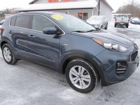 2018 Kia Sportage for sale at Thompson Motors LLC in Attica NY