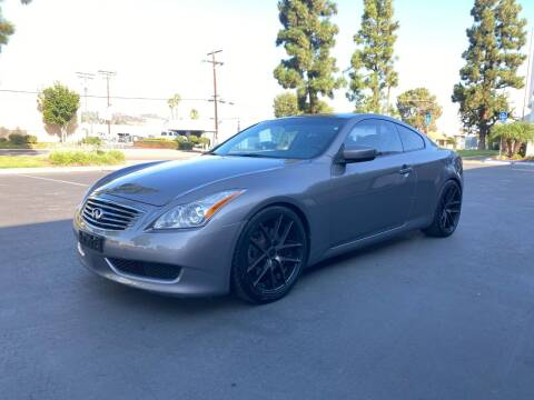 2008 Infiniti G37 for sale at Ideal Autosales in El Cajon CA