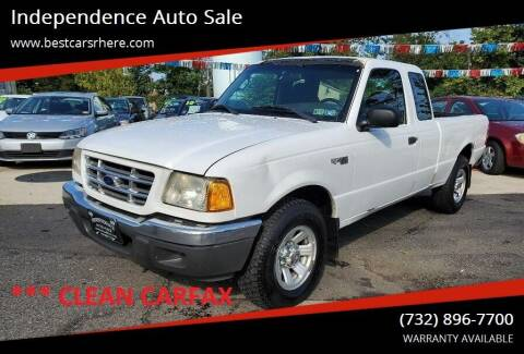 2003 Ford Ranger for sale at Independence Auto Sale in Bordentown NJ
