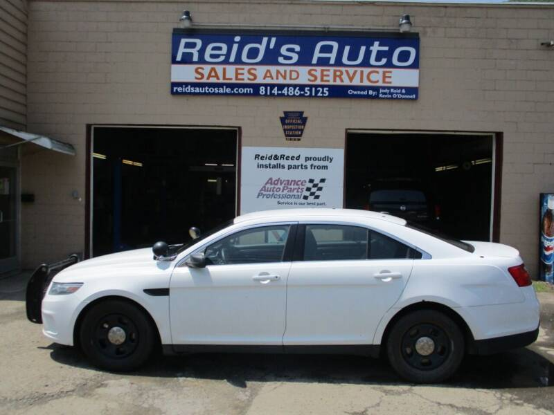 2013 Ford Taurus for sale at Reid's Auto Sales & Service in Emporium PA