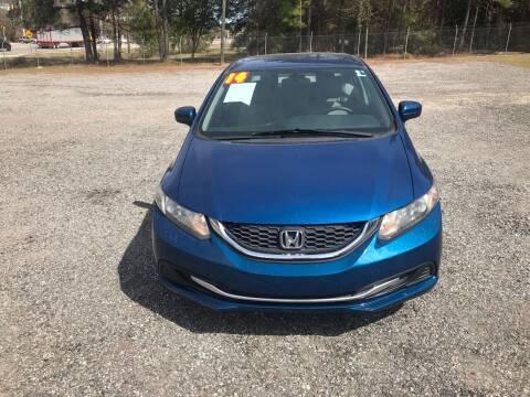 2014 Honda Civic for sale at 912 Auto Sales in Douglas GA