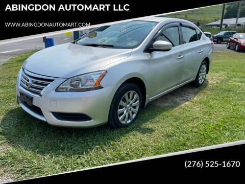 2015 Nissan Sentra for sale at ABINGDON AUTOMART LLC in Abingdon VA