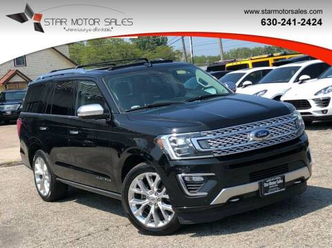 2018 Ford Expedition for sale at Star Motor Sales in Downers Grove IL