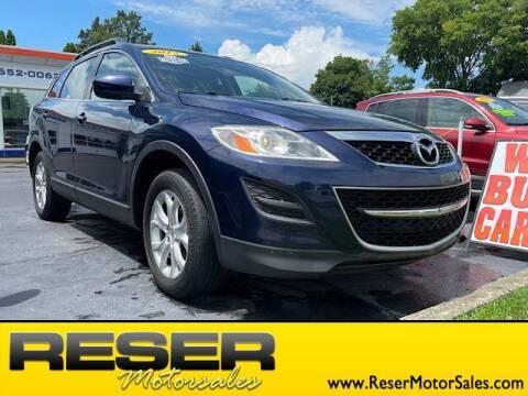 2012 Mazda CX-9 for sale at Reser Motorsales in Urbana OH