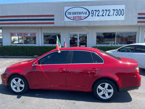 2009 Volkswagen Jetta for sale at Traditional Autos in Dallas TX