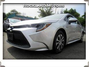 2020 Toyota Corolla Hybrid for sale at Rockland Automall - Rockland Motors in West Nyack NY
