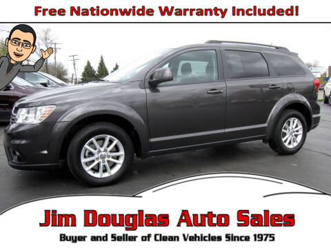 2016 Dodge Journey for sale at Jim Douglas Auto Sales in Pontiac MI