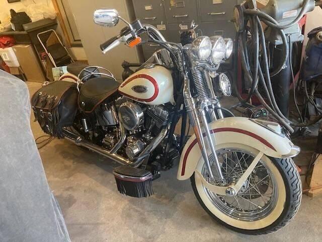 2001 Harley-Davidson FLSTSI Heritage Springer for sale at CarsBikesBoats.com in Round Mountain TX
