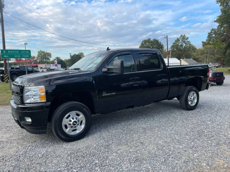 2012 Chevrolet Silverado 2500HD for sale at Priority One Auto Sales - Priority One Diesel Source in Stokesdale NC