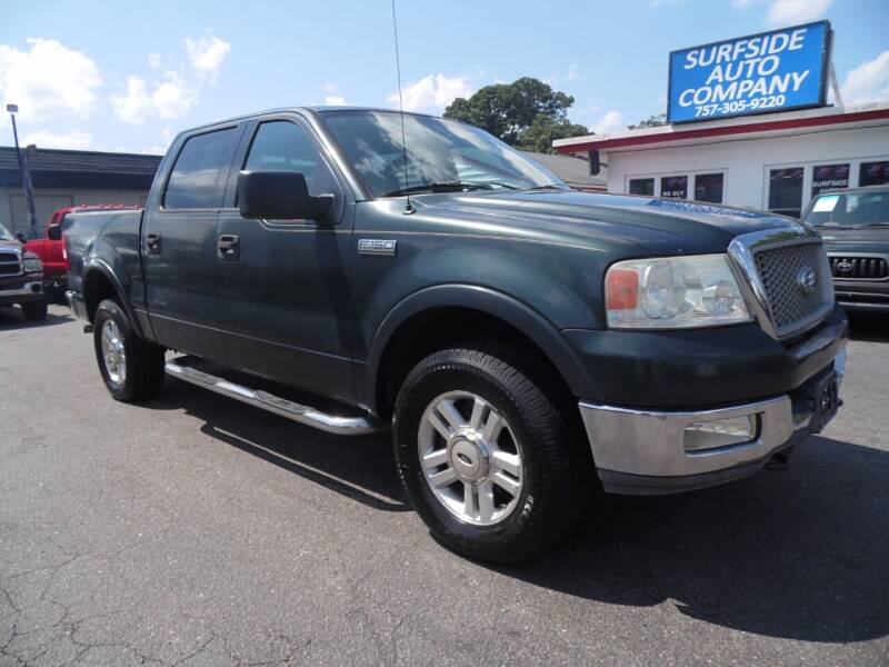 2004 Ford F-150 for sale at Surfside Auto Company in Norfolk VA