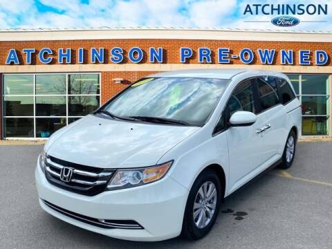 2014 Honda Odyssey for sale at Atchinson Ford Sales Inc in Belleville MI