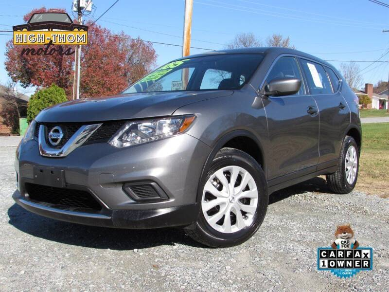 2016 Nissan Rogue for sale at High-Thom Motors in Thomasville NC