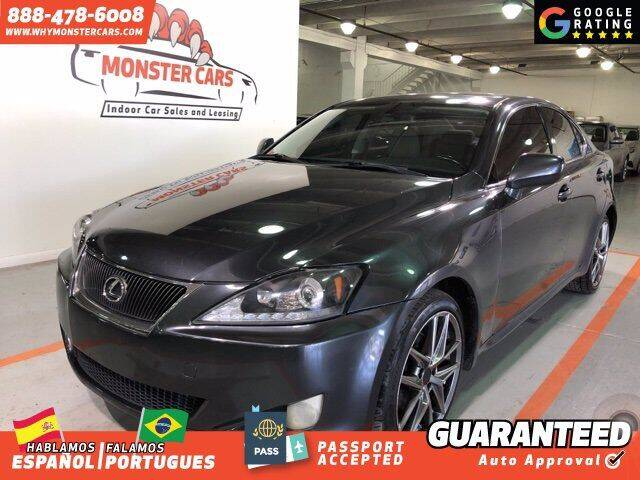 2006 Lexus IS 250 for sale at Monster Cars in Pompano Beach FL