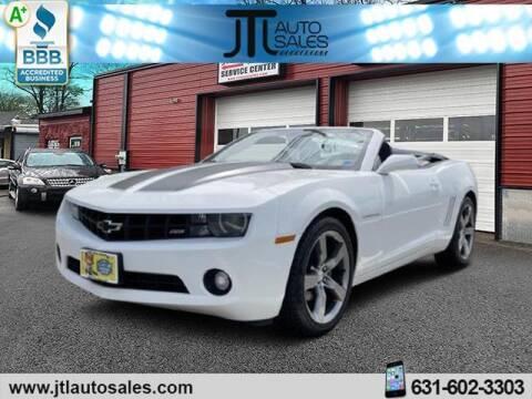 2012 Chevrolet Camaro for sale at JTL Auto Inc in Selden NY
