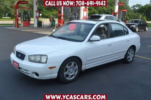 2002 Hyundai Elantra for sale at Your Choice Autos - Crestwood in Crestwood IL