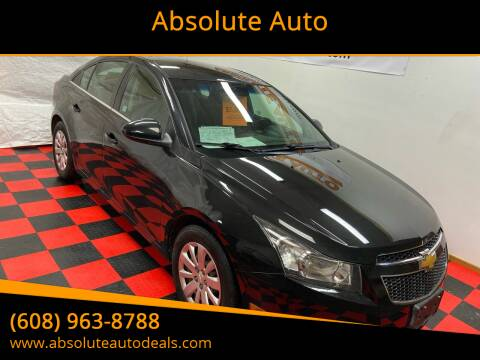 2011 Chevrolet Cruze for sale at Absolute Auto in Baraboo WI