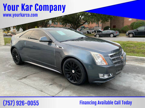 2011 Cadillac CTS for sale at Your Kar Company in Norfolk VA