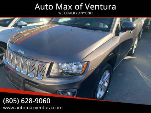 2015 Jeep Compass for sale at Auto Max of Ventura in Ventura CA