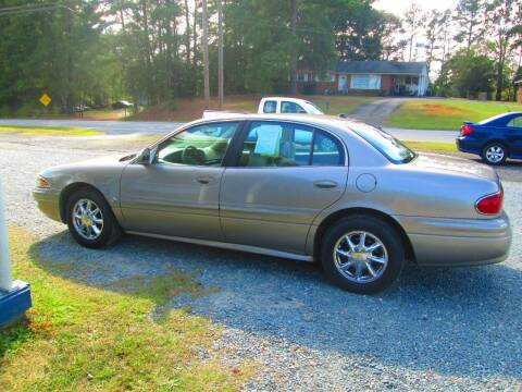 2004 Buick LeSabre for sale at Wright's Auto Sales in Lancaster SC