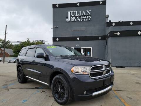 2012 Dodge Durango for sale at Julian Auto Sales, Inc. in Warren MI
