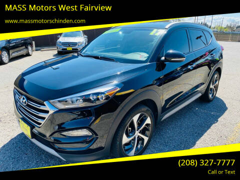 2017 Hyundai Tucson for sale at MASS Motors West Fairview in Boise ID