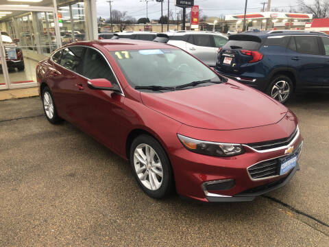2017 Chevrolet Malibu for sale at ROTMAN MOTOR CO in Maquoketa IA
