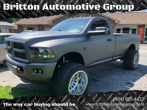 2015 RAM Ram Pickup 2500 for sale at Britton Automotive Group in Loganville GA