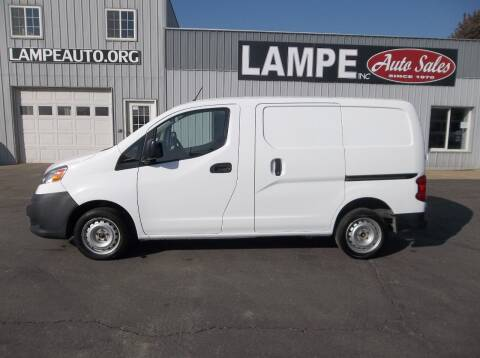 2014 Nissan NV200 for sale at Lampe Auto Sales in Merrill IA