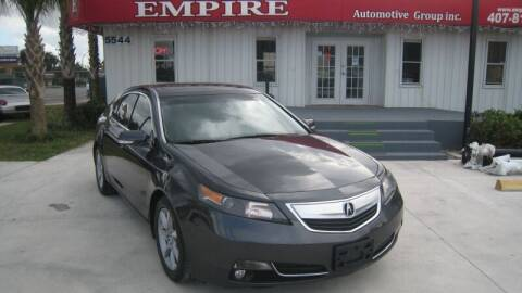 2012 Acura TL for sale at Empire Automotive Group Inc. in Orlando FL