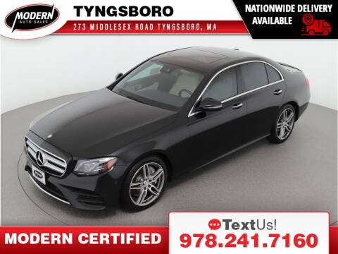 2017 Mercedes-Benz E-Class for sale at Modern Auto Sales in Tyngsboro MA