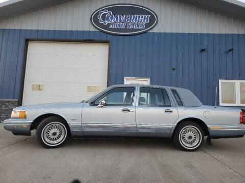 1992 Lincoln Town Car for sale at Maverick Automotive in Arlington MN