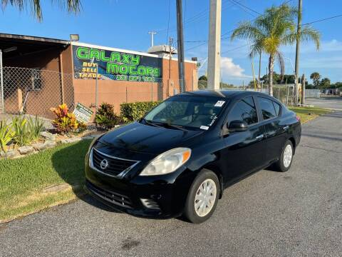 2012 Nissan Versa for sale at Galaxy Motors Inc in Melbourne FL