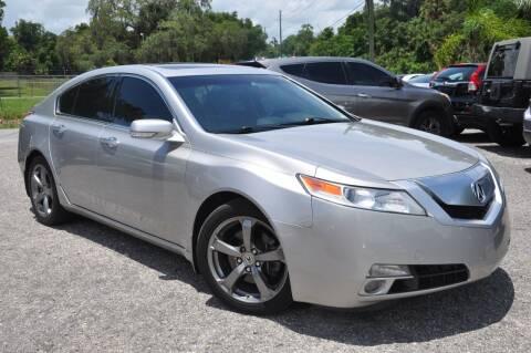 2010 Acura TL for sale at Elite Motorcar, LLC in Deland FL