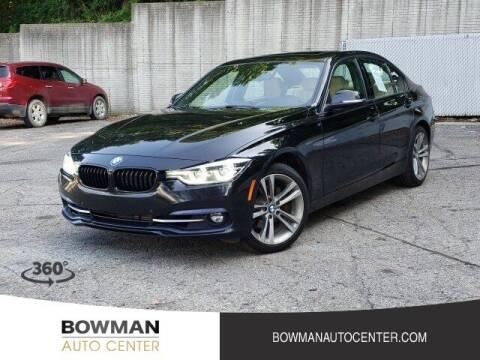 2016 BMW 3 Series for sale at Bowman Auto Center in Clarkston MI