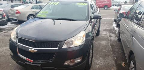 2011 Chevrolet Traverse for sale at TC Auto Repair and Sales Inc in Abington MA
