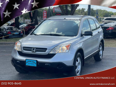 2009 Honda CR-V for sale at Central Union Auto Finance LLC in Austin TX