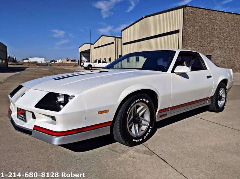 1983 Chevrolet Camaro for sale at Mr. Old Car in Dallas TX
