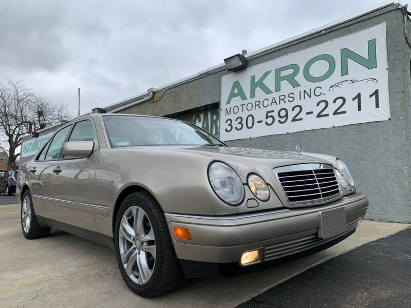 1999 Mercedes-Benz E-Class for sale at Akron Motorcars Inc. in Akron OH