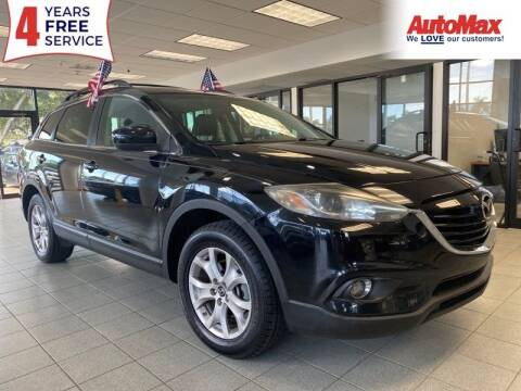 2015 Mazda CX-9 for sale at Auto Max in Hollywood FL