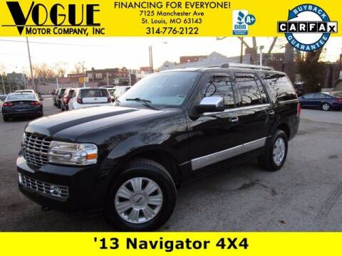 2013 Lincoln Navigator for sale at Vogue Motor Company Inc in Saint Louis MO