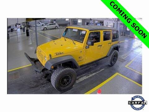 2015 Jeep Wrangler Unlimited for sale at LAKESIDE MOTORS, INC. in Sachse TX