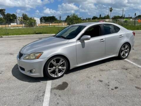 2010 Lexus IS 250 for sale at USA BUSINESS SOLUTIONS GROUP in Davie FL
