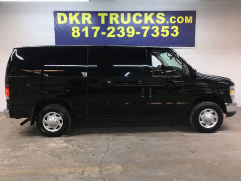 2013 Ford E-Series Cargo for sale at DKR Trucks in Arlington TX