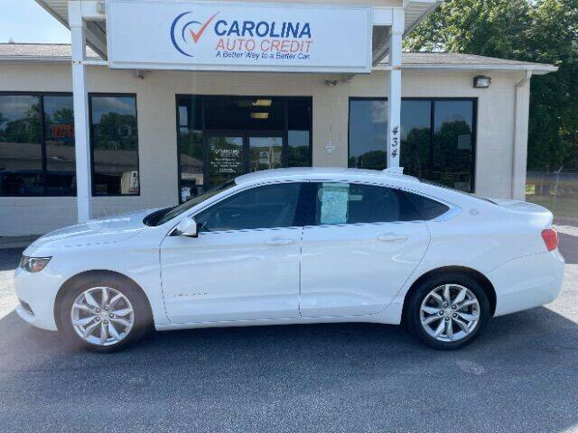 2016 Chevrolet Impala for sale at Carolina Auto Credit in Youngsville NC