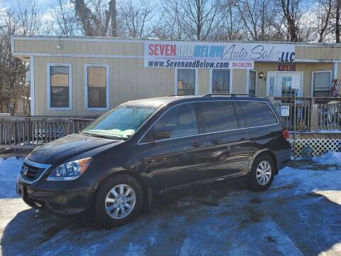 2008 Honda Odyssey for sale at Seven and Below Auto Sales, LLC in Rockville MD